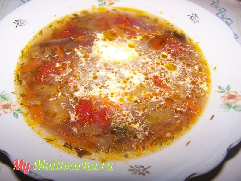блюда с баклажанами в мультиварке рецепты