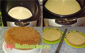 Инструкция приготовления бисквита в мультиварке