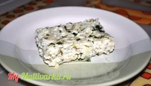 Рыбная запеканка с рисом в мультиварке