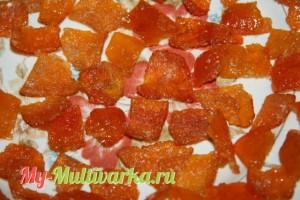 Цукаты из мандариновых корочек в мультиварке