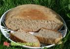 Деревенский ржаной хлеб в мультиварке