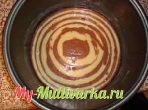 Добавить тесто в мультиварку