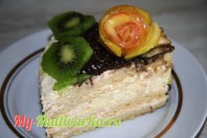 Яблочный торт в мультиварке