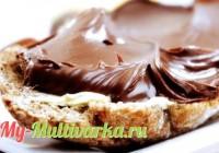 Шоколадная паста в мультиварке