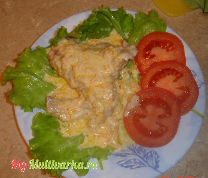 рецепты для мультиварки рыба с соусом