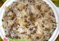 Рис с чечевицей (маджадра) в мультиварке