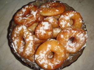 Горячие пончики